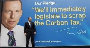 Carbon tax pledge