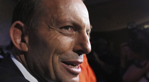 Tony Abbott is a modest man...and forever on the spin cycle